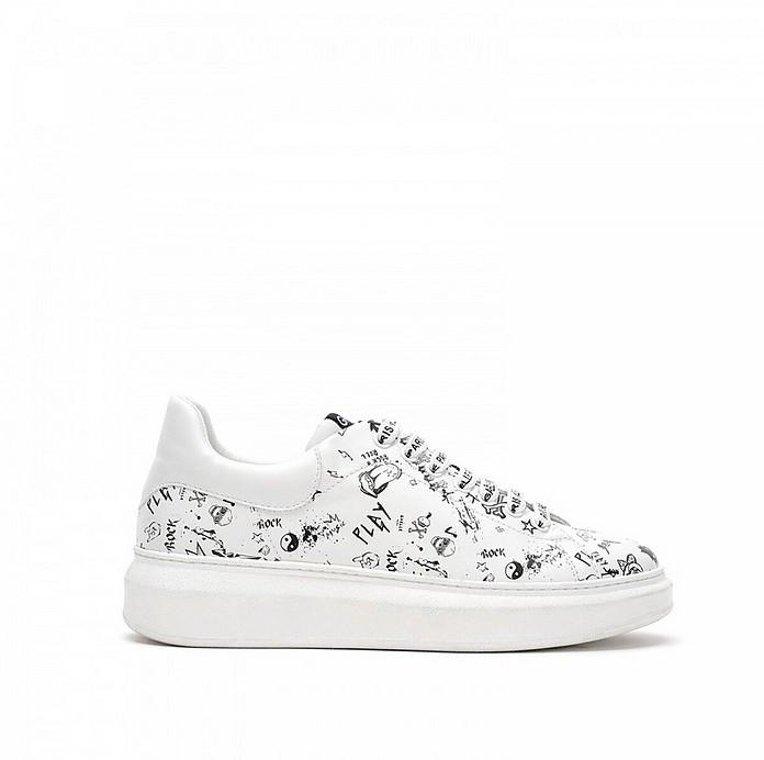 Women's White Shoes - GAELLE PARIS