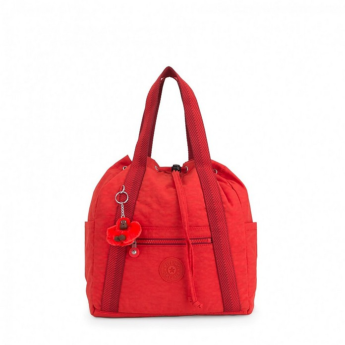 Red Art S Convertible Tote/Backpack - KIPLING