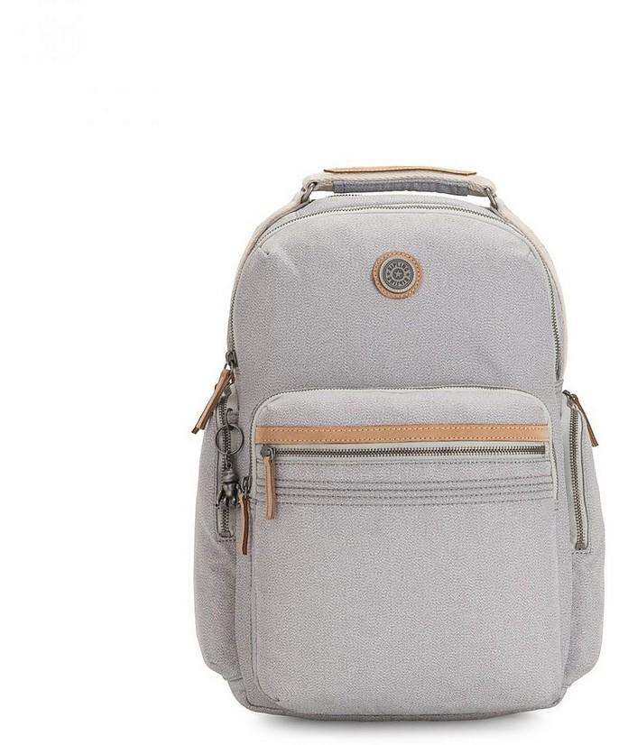 Rustic Blue Osho Large Laptop Backpack - KIPLING