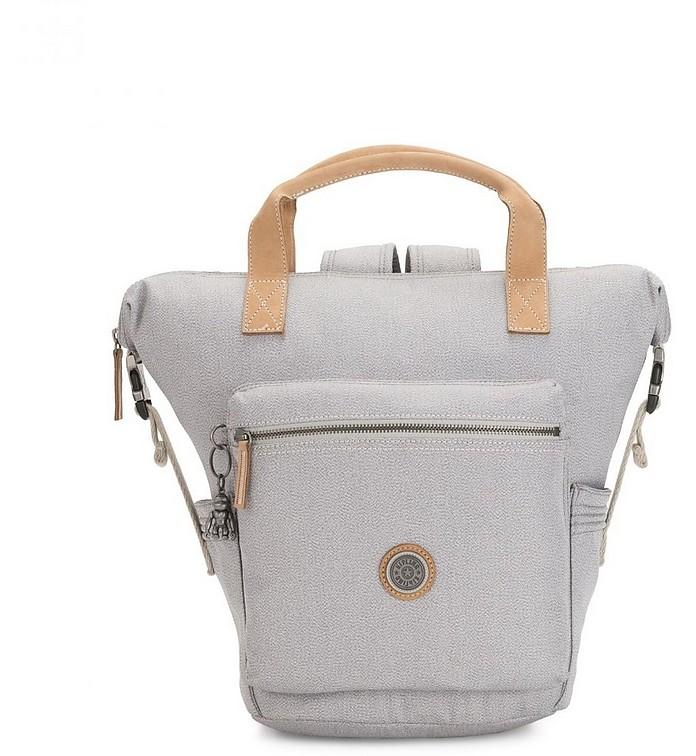 Rustic Blue Tsuki Small Convertible Tote/Backpack - KIPLING