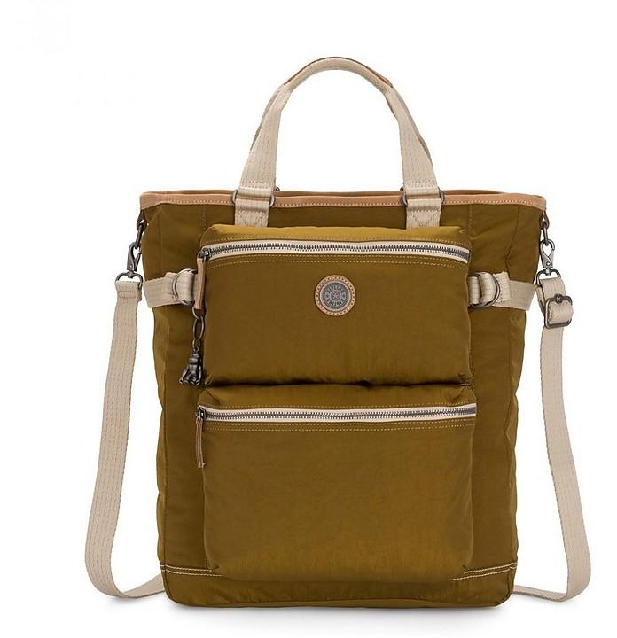 Mustard Yellow Laslo 29I Tote Bag - KIPLING