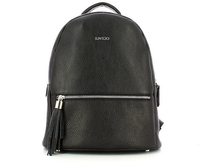 Women's Black Backpack - IUNTOO