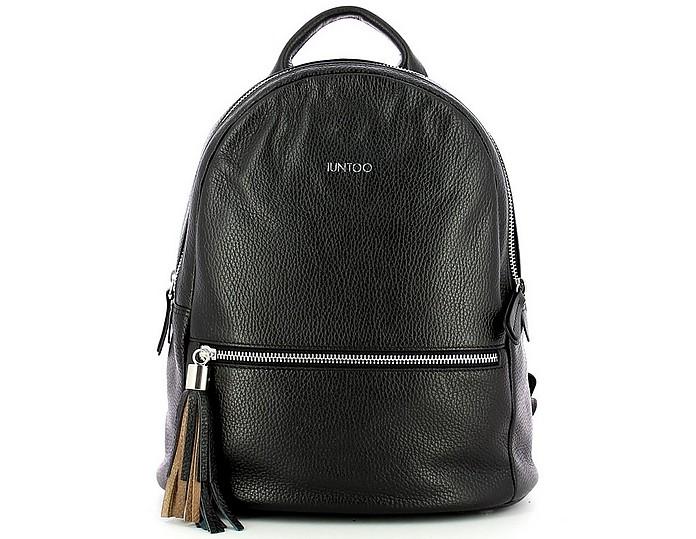 Women's Black Backpack - IUNTOO
