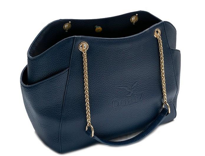 Florentine Genuine Leather Chain Shoulder Bag - Quai7
