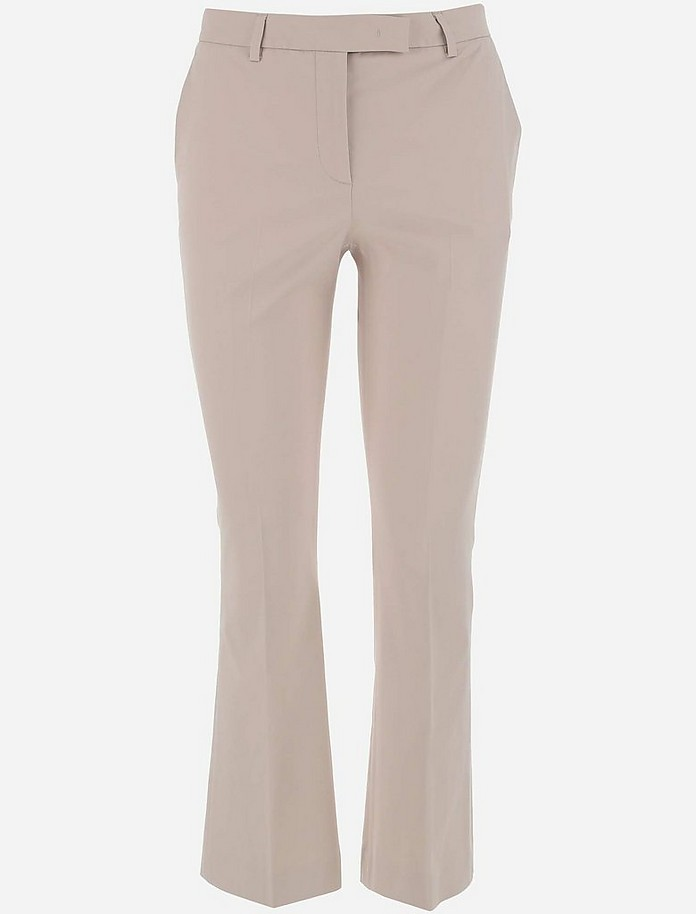 Women's Straight_Trousers - QL2 Donna