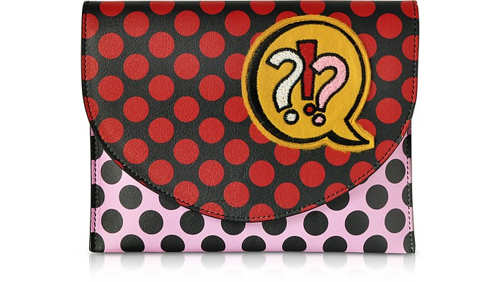 Miracle Pop Leather Clutch - Alessandro Enriquez