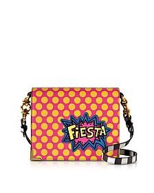 Hera Pop Fiesta Leather Shoulder Bag - Alessandro Enriquez