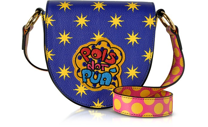 Mini Hebe Pop Pois Leather Shoulder Bag - Alessandro Enriquez