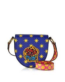 Mini Hebe Pop Pois Leather Shoulder Bag - Alessandro Enriquez