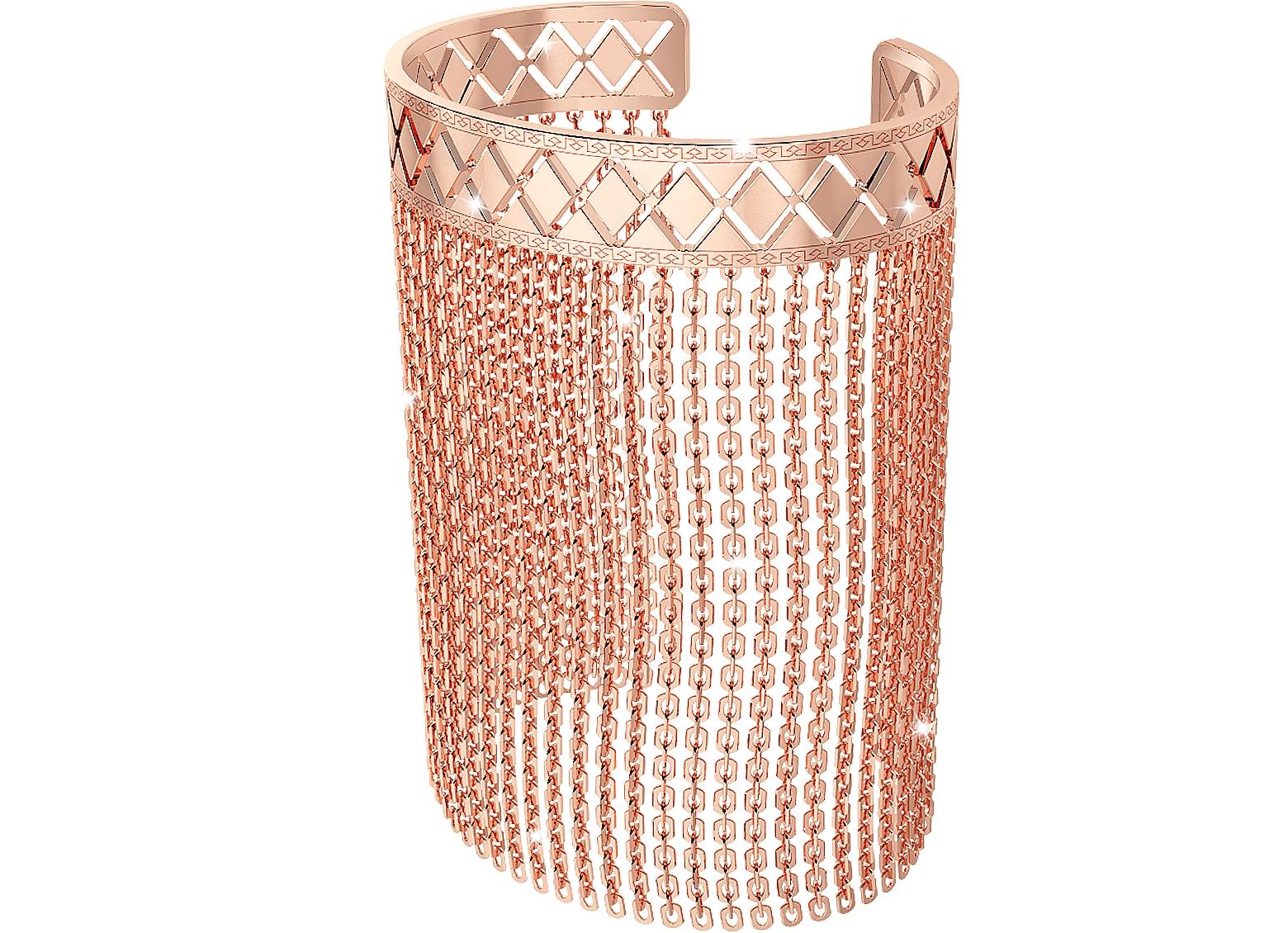 Melrose Rose Gold Over Bronze Mesh Bracelet
