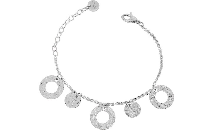 R-ZERO Rhodium Over Bronze Bracelet - Rebecca