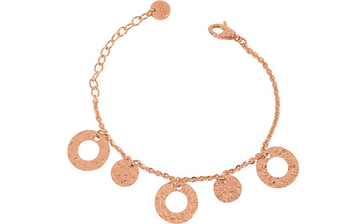 R-ZERO Rose Gold Over Bronze Bracelet - Rebecca