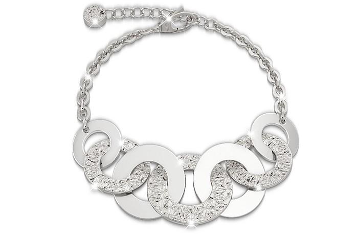 R-ZERO Rhodium Over Bronze Bracelet - Rebecca