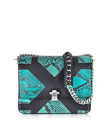 Hera Medium Multicolor Python Shoulder Bag