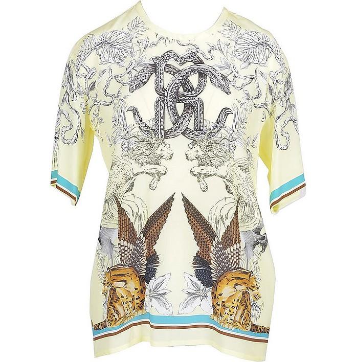 Women's Fantasy Print T-Shirt - Roberto Cavalli
