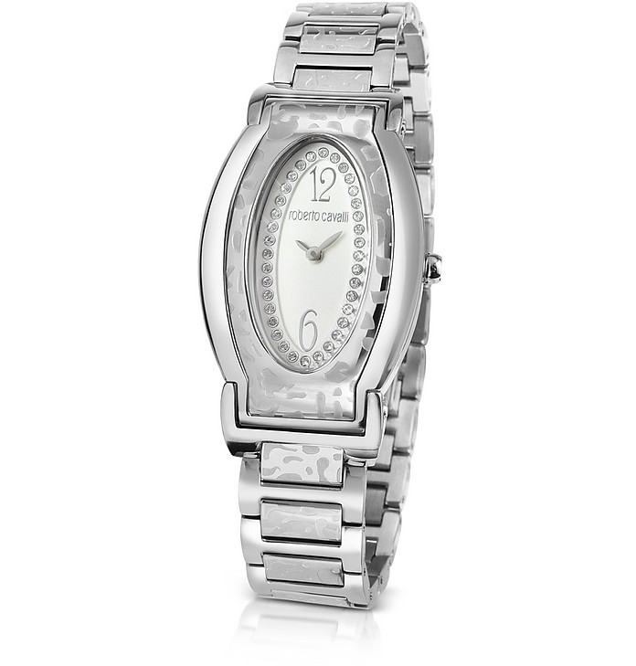 Roberto Cavalli Silver Diana - Oval Dial Watch at FORZIERI 2730b20323