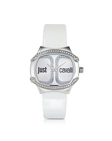 Born Collection Oblong Logo Watch - Just Cavalli