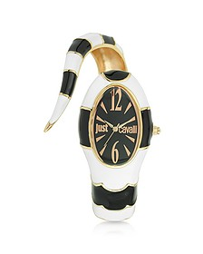 Poison Jc 3H Black Stainless Steel Dial Women's Watch