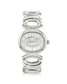 Double Jc 2H Silver Dial Stainless Steel Women's Watch