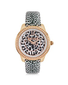 Leopard 3H Women's Watch - Just Cavalli
