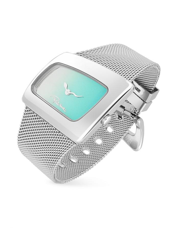 Curvo - Ladies' Stainless Steel Mesh Bracelet Dress Watch - Roberto Cavalli