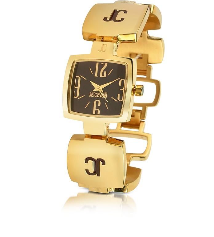 JC Light - Logo Enamel Bracelet Watch - Just Cavalli