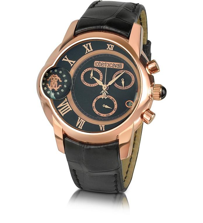 Caracter - Men's Dual-Time Chronograph Watch - Roberto Cavalli