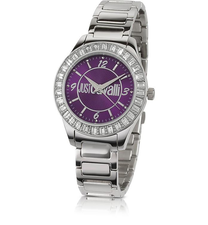 Chic - Crystal Bezel Bracelet Watch - Just Cavalli