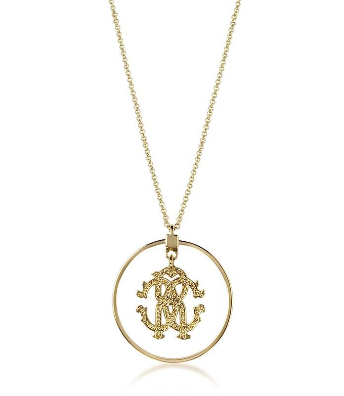 Rc Icon Lange Halskette mit Anhänger - Roberto Cavalli