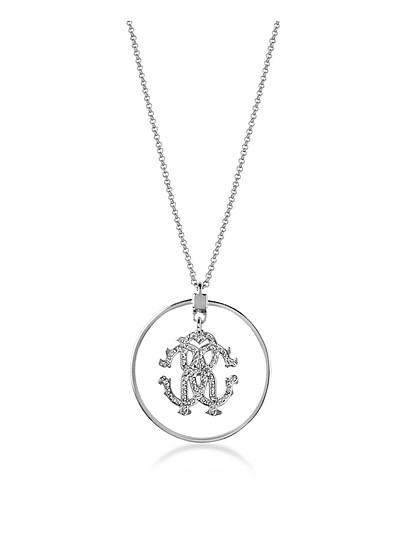 Rc Icon Long Necklace w/Charm - Roberto Cavalli