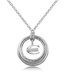 Infinity - Logo Pendant Chain Necklace - Just Cavalli