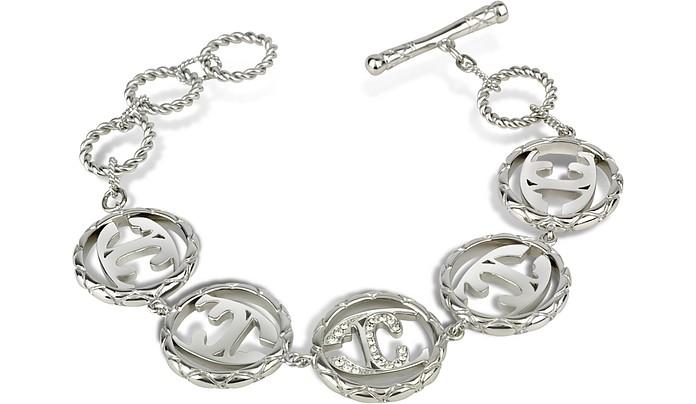 Monogram - Logo Link Toggle Bracelet - Just Cavalli
