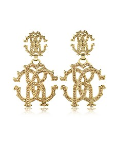 RC Lux Signature Earrings w/Crystal