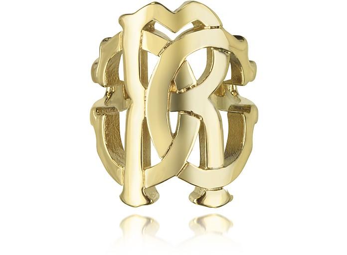 RC Lux Gold Tone Ring - Roberto Cavalli / ロベルト カヴァリ