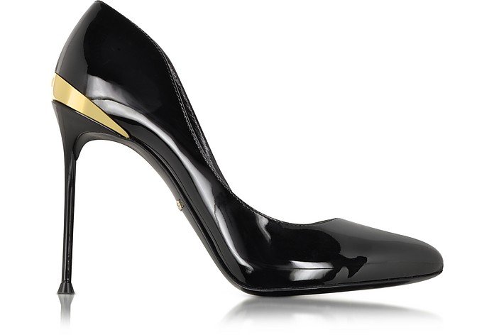 Black Patent Leather Pump - Roberto Cavalli