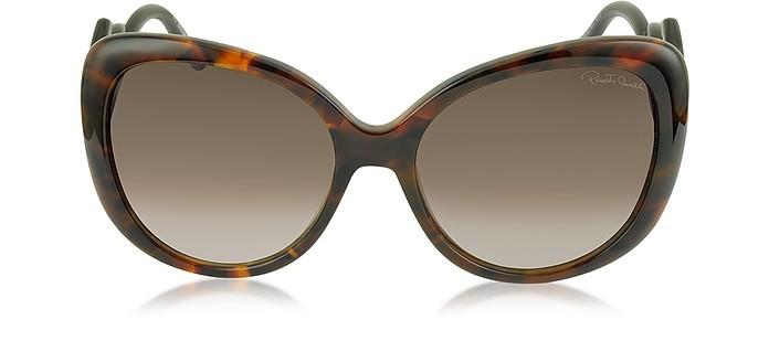 Mintaka 911S 52F Havana Acetate Women's Sunglasses - Roberto Cavalli
