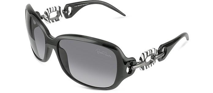 Calla - Signature Rectangular Ring Sunglasses  - Roberto Cavalli