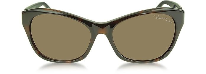 Asdu 730S 52F Havana Leopard Brown Sunglasses  - Roberto Cavalli