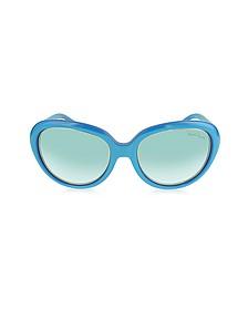 Acqua 781S 87W Turquoise Acetate Women's Sunglasses