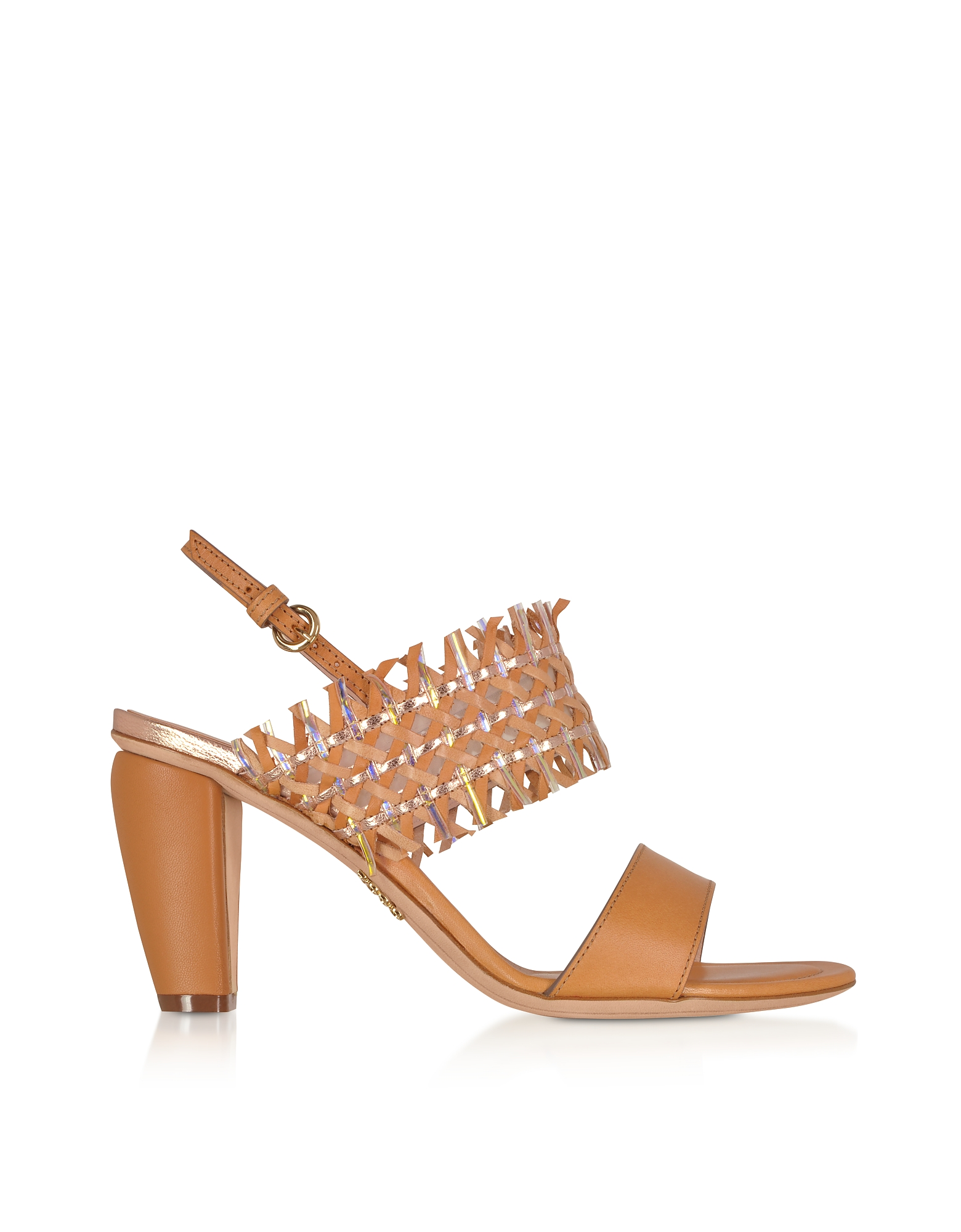 Rodo Sandals CUOIO WOVEN LEATHER WOMEN'S SANDALS
