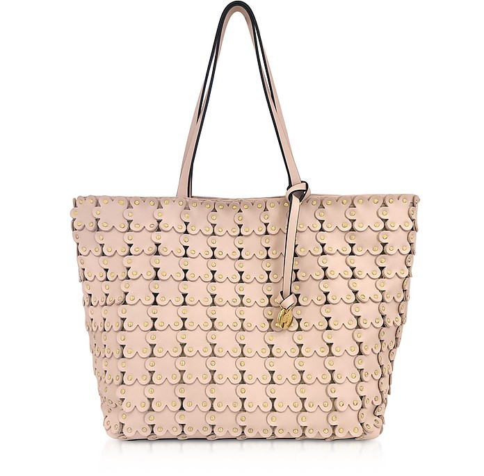 Flower Puzzle Tote Bag - RED Valentino