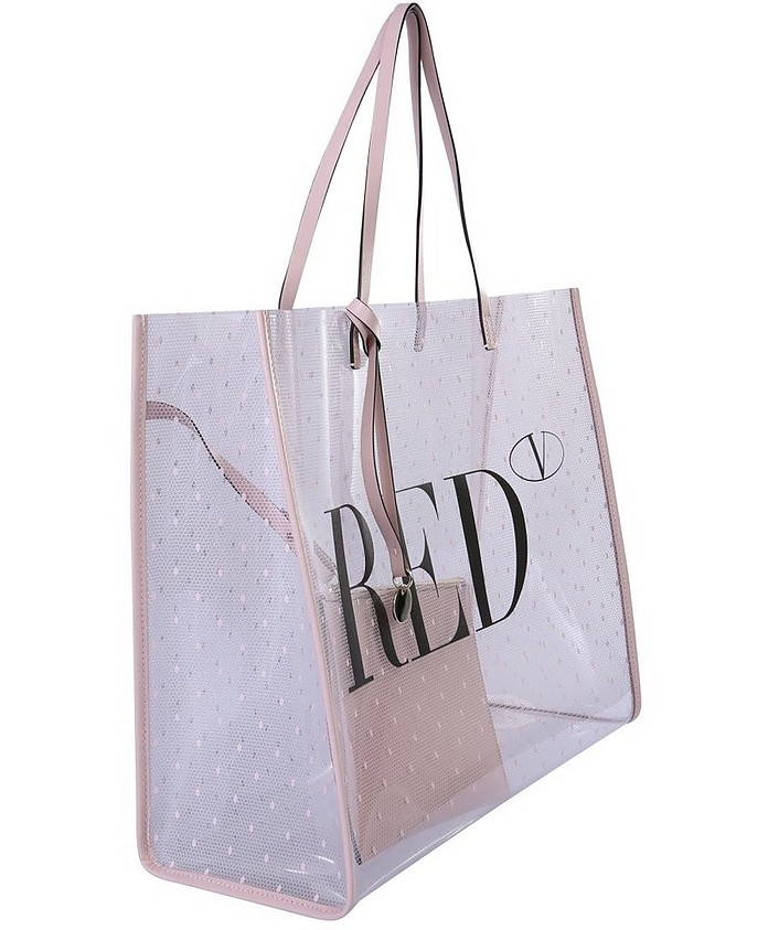 Pointote Shopping Bag - RED Valentino