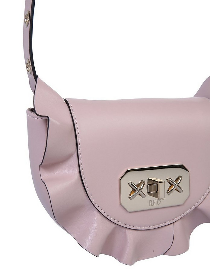 Pouch With Ruches - RED VALENTINO