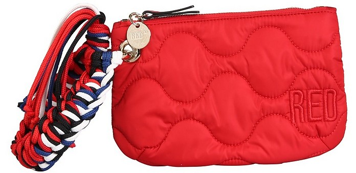 Matelassé Nylon Bag - RED Valentino
