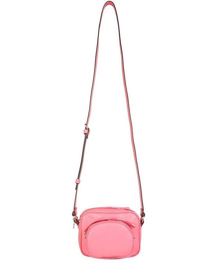 Leather Shoulder Bag - RED Valentino