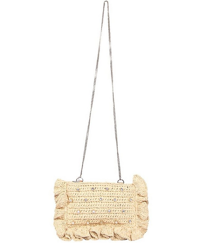 Rock Ruffle Shoulder Bag - RED Valentino