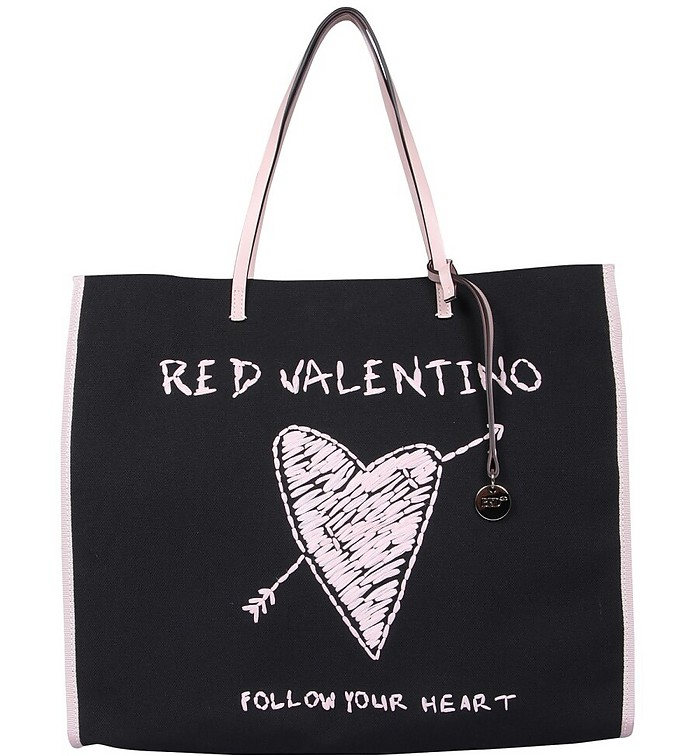 Large Tote Bag - RED Valentino
