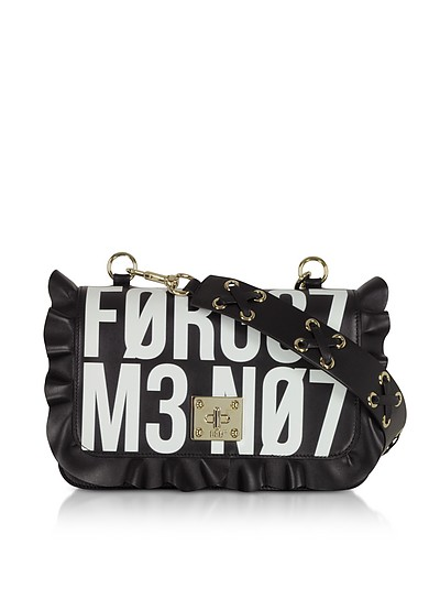 Rock Ruffle Signs Shoulder Bag - RED Valentino