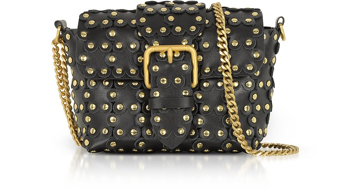 Puzzle Flower Chain Shoulder Bag - RED Valentino
