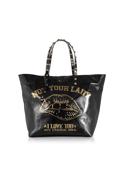 Not Your Lady Black Tote Bag - RED Valentino